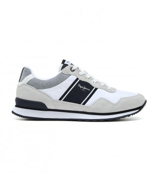 Acheter Pepe Jeans Sneakers Cross 4 Sailor blanc, beige