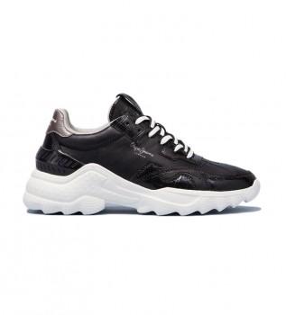 Comprar Pepe Jeans Sneakers Eccles Croco preto