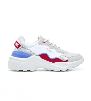 Buy Pepe Jeans Eccles Junior Summer Shoes white
