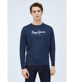 Comprare Pepe Jeans T-shirt bianca Eggo Long