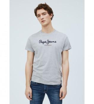 Comprar Pepe Jeans Camiseta Básica Logo Eggo gris