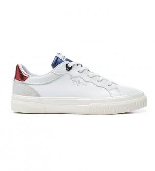 Buy Pepe Jeans Kenton Classic Girl shoes white