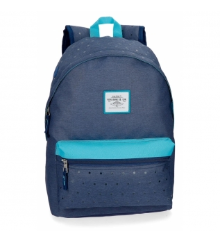 Buy Pepe Jeans Backpack 42 cm adaptable to trolley Pepe Jeans Molly blue -31x42x17,5cm