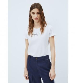 Buy Pepe Jeans New Virginia T-shirt white