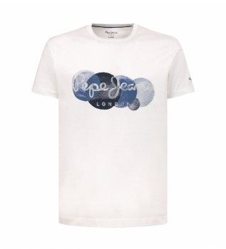 Comprare Pepe Jeans Maglietta Sacha bianca