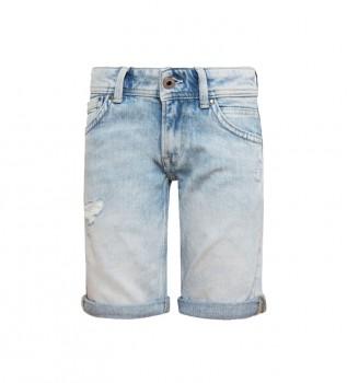 Acheter Pepe Jeans Short en denim Tracker bleu