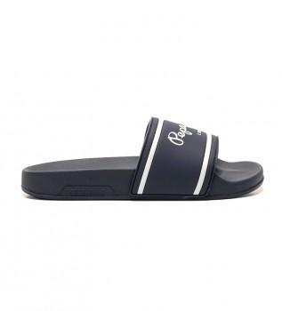 Buy Pepe Jeans Flip flops Logo Boys navy