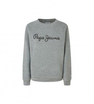 Acheter Pepe Jeans Sweat-shirt Nana gris