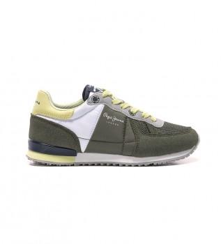 Buy Pepe Jeans Sydney Basic Boy Khaki Shoes