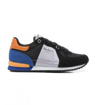Buy Pepe Jeans Sydney Combi Boy AW20 shoes black