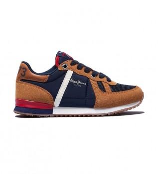 Buy Pepe Jeans Sneakers Sydney Combi brown