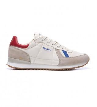 Buy Pepe Jeans Tinker Jogger beige sneakers