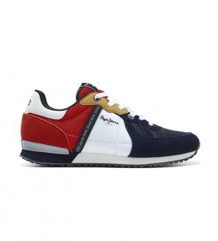 Comprare Pepe Jeans Scarpa Tinker Zero 21 rosso, blu
