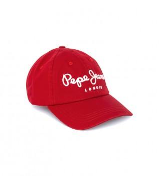 Comprare Pepe Jeans Cappellino rosso Torla