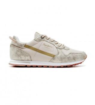 Comprar Pepe Jeans Sapatos Verona W Lurex ouro