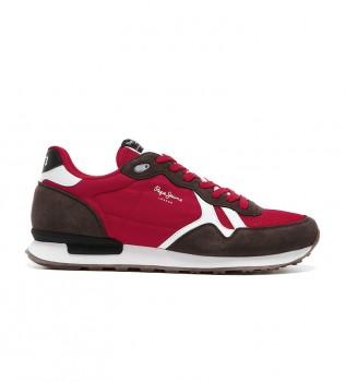 Comprare Pepe Jeans Sneakers Britt Man Basic rosse