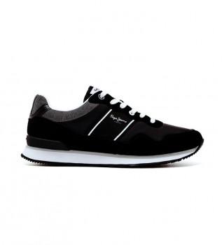 Comprare Pepe Jeans Scarpe da marinaio Cross 4 nere