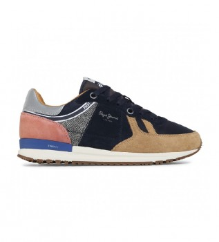 Comprare Pepe Jeans Sneaker Tinker Pro 73 EDT Tweed in pelle di cammello
