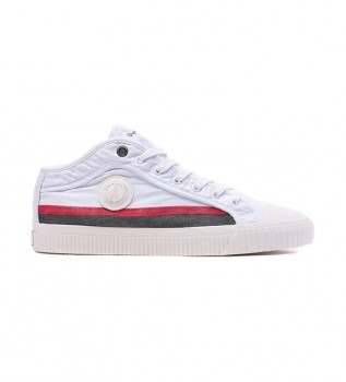 Buy Pepe Jeans Malibu In Man shoes white
