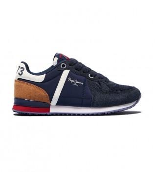 Buy Pepe Jeans Sydney Combi Shoes navy