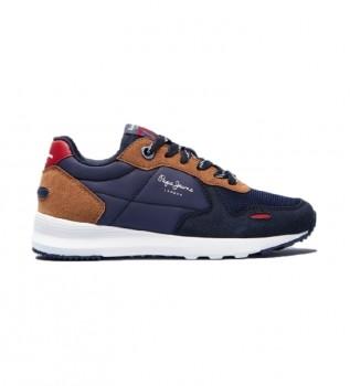 Buy Pepe Jeans Sneakers York Basic Boy blue, brown