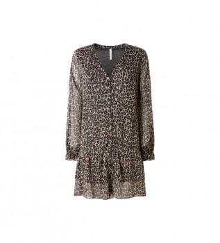 Acheter Pepe Jeans Robe à imprimé animal Adele