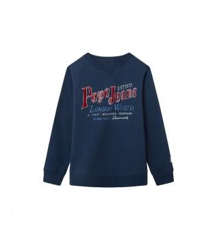 Acheter Pepe Jeans Arthur sweatshirt bleu marine