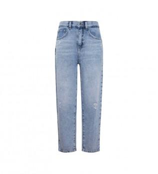 Buy Pepe Jeans Carla Mumfit Jeans High Waist blue