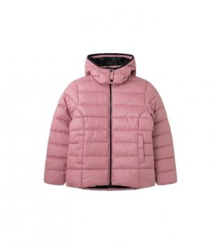 Buy Pepe Jeans Carmen pink down jacket
