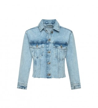 Buy Pepe Jeans Denim Jacket Nicole blue