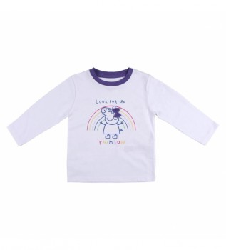Comprare Cerdá Group Maglietta Peppa Pig bianca manica lunga