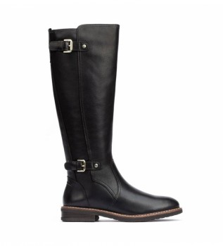 Comprar Pikolinos Aldaya botas de couro preto