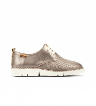 Comprar Pikolinos Sapatos de couro Vera W4L ouro