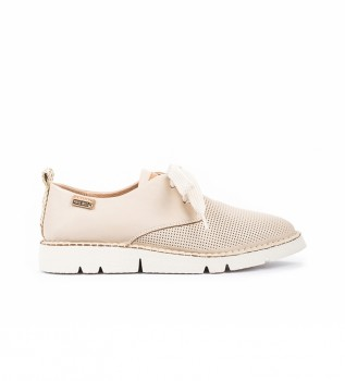 Buy Pikolinos Vera leather shoes W4L-6780 white