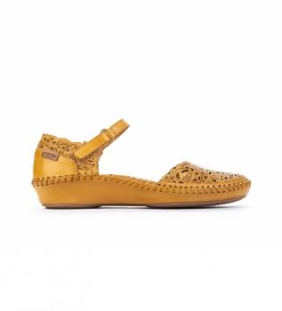 Comprar Pikolinos Sandalia de piel P. Vallarta 655-0906 amarillo