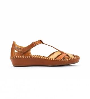 Acheter Pikolinos Sandales en cuir P. Vallarta 655-0732C5 brun
