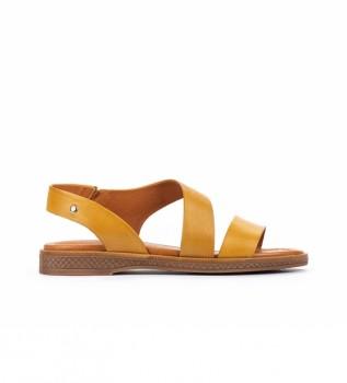Comprar Pikolinos Sandalias de piel  Moraira W4E amarillo