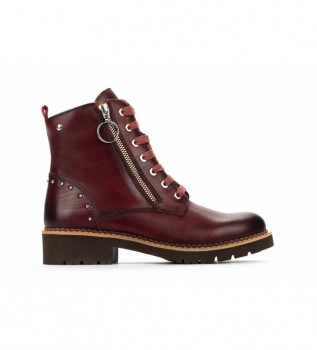 Buy Pikolinos Leather boots Vicar W0V clay