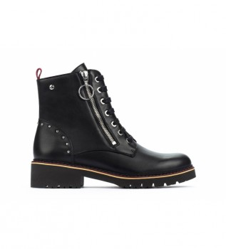 Buy Pikolinos Leather boots Vicar W0V black