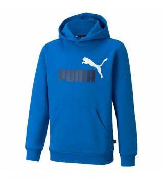 Acheter Puma Sweat-shirt ESS+ 2 Col Big Logo bleu