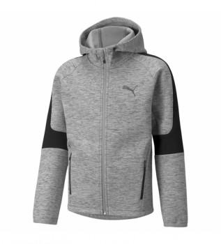 Acheter Puma Sweat-shirt gris à rayures Evost