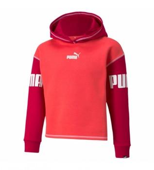Comprar Puma Sudadera Puma Power rosa