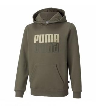 Comprar Puma Sweatshirt Puma Power Logotipo verde