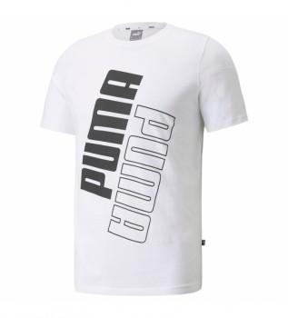 Comprar Puma Camiseta Puma Power Logo blanco
