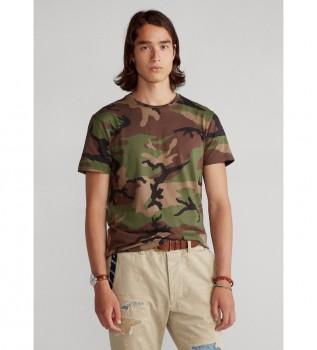 Comprare Ralph Lauren T-shirt mimetica slim fit personalizzata