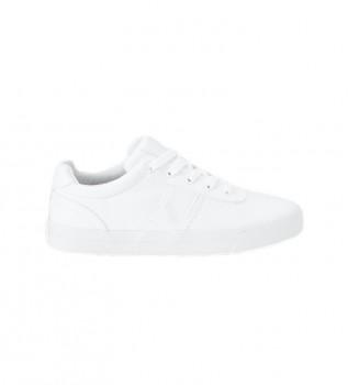 Acheter Ralph Lauren Baskets Hanford blancs