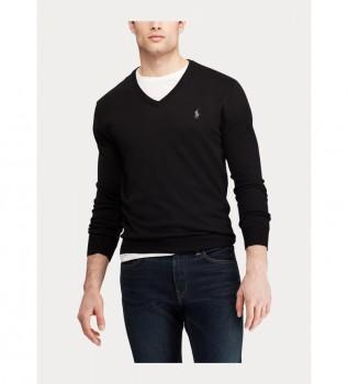 Acheter Ralph Lauren Pull Slim Fit 710670789003 noir
