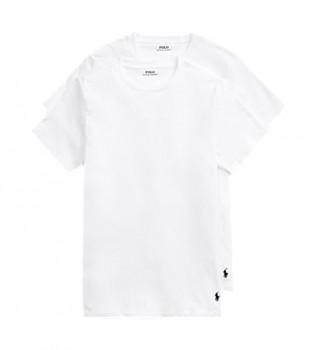 Comprare Ralph Lauren Confezione da 2 magliette classiche bianche