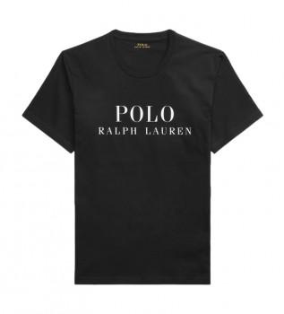 Acheter Ralph Lauren T-shirt col rond Sleep noir