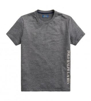 Acheter Ralph Lauren Sleep - T-shirt en maille avec logo, gris